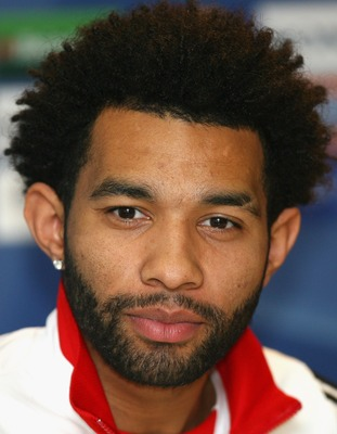 MILAN, ITALY - MARCH 10:  Jermaine Pennant of Liverpool faces the media during the Liverpool press conference ahead of their UEFA Champions League match against Inter Milan tomorrow night held at the San Siro Stadium on March 10, 2008 in Milan, Italy.  (P