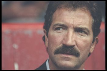 5 Aug 1996:  A portrait of Graeme Souness the manager of Southampton taken during the pre-season friendly between Bournemouth and Derby County, at Bournemouth. Mandatory Credit: Craig Prentis/Allsport UK