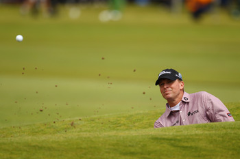 A great bunker artist, Stricker can win at Sandwich, Eng.
