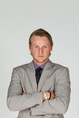 LAS VEGAS, NV - JUNE 22:  Steven Stamkos of the Tampa Bay Lightning poses for a portrait during the 2011 NHL Awards at the Palms Casino Resort June 22, 2011 in Las Vegas, Nevada.  (Photo by Jeff Gross/Getty Images)