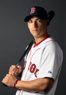 FT. MYERS, FL - FEBRUARY 20:  Jose Iglesias #76 of the Boston Red Sox poses for a portrait during the Boston Red Sox Photo Day on February 20, 2011 at the Boston Red Sox Player Development Complex in Ft. Myers, Florida  (Photo by Elsa/Getty Images)