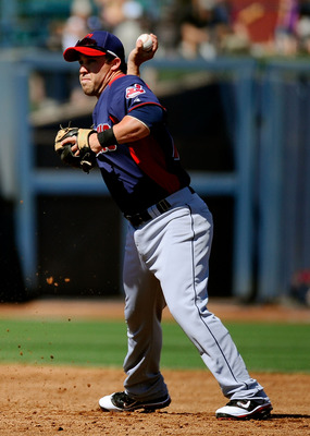 PEORIA, AZ - MARCH 13:  Jason Kipnis #72 of the Cleveland Indians plays against the San Diego Padres during the spring training baseball game at Peoria Stadium on March 13, 2011 in Peoria, Arizona.  (Photo by Kevork Djansezian/Getty Images)