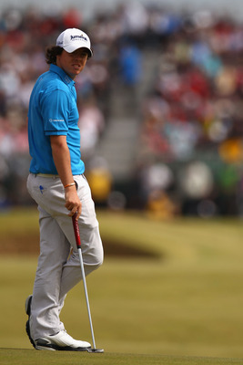 ST ANDREWS, SCOTLAND - JULY 18:  Rory McIlroy of Northern Ireland waits on the tenth green during the final round of the 139th Open Championship on the Old Course, St Andrews on July 18, 2010 in St Andrews, Scotland.  (Photo by Richard Heathcote/Getty Ima