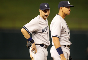 "Jeter: ""And another thing, A-Rod. I'm a much better interview than your punk-ace""."