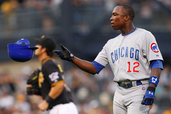 Alfonso Soriano now with the Chicago Cubs