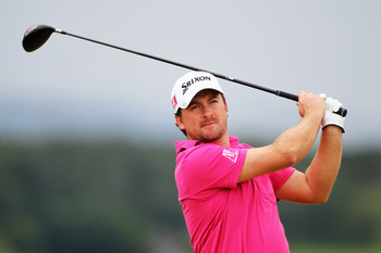 INVERNESS, SCOTLAND - JULY 10:  Graeme McDowell of Northern Ireland tees off on the 5th hole during the final round of The Barclays Scottish Open at Castle Stuart Golf Links on July 10, 2011 in Inverness, Scotland.  (Photo by Dean Mouhtaropoulos/Getty Ima