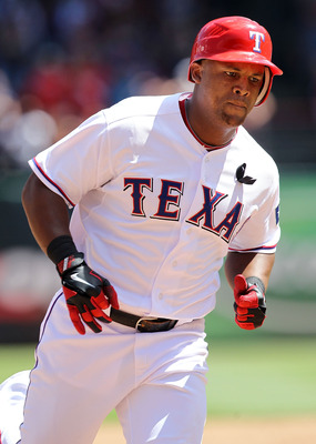 ARLINGTON, TX - JULY 10:  Adrian Beltre #29 of the Texas Rangers at Rangers Ballpark in Arlington on July 10, 2011 in Arlington, Texas.  (Photo by Ronald Martinez/Getty Images)