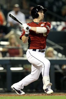 PHOENIX, AZ - JULY 10:  U.S. Futures All-Star Jason Kipnis #9 of the Cleveland Indians hits a first inning home run during the 2011 XM All-Star Futures Game at Chase Field on July 10, 2011 in Phoenix, Arizona.  (Photo by Christian Petersen/Getty Images)