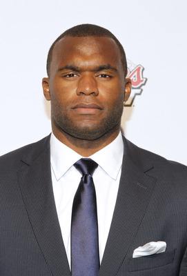 NEW YORK - APRIL 21:  Florida State football player, Myron Rolle attends ESPN the Magazine's 7th Annual Pre-Draft Party at Espace on April 21, 2010 in New York City.  (Photo by Mark Von Holden/Getty Images for ESPN)
