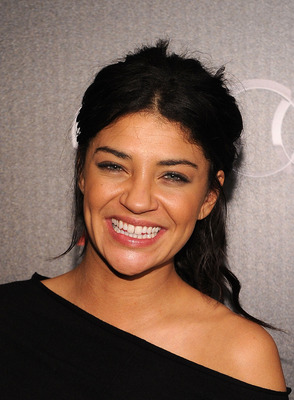 DALLAS, TX - FEBRUARY 05:  Actress Jessica Szohr attends a private dinner hosted by Audi during Super Bowl XLV Weekend at the Audi Forum Dallas on February 5, 2011 in Dallas, Texas.  (Photo by Michael Buckner/Getty Images for Audi)