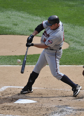 CHICAGO, IL - JULY 09: Jim Thome #25 of the Minnesota Twins bats against the Chicago White Sox on July 9, 2011 at U.S. Cellular Field in Chicago, Illinois. The White Sox defeated the Twins 4-3.    (Photo by David Banks/Getty Images)