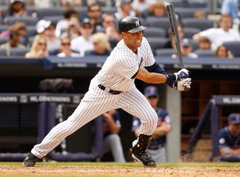 June 12, Jeter goes 2-5 with a run and two RBI as the Yankees win 9-1 over the Cleveland Indians.