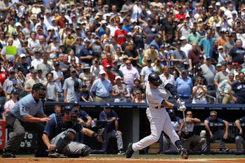 July 9, Jeter gets hit No. 3,000 as the Yankees win 5-4 over the Rays.