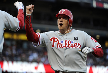 Hunter Pence takes his everlasting enthusiasm and talents to the City of Brotherly Love