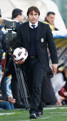 Conte takes helm at Juventus