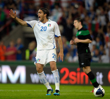 Alessandro Matri leads from the front
