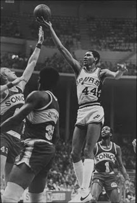 "George Gervin was famous for his ""finger roll"""