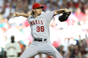 All-Star starter Jered Weaver should lead the Angels to the playoffs this season.