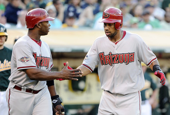 Justin Upton and Chris Young lead a powerful Arizona lineup into the season's second half.