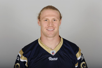 ST. LOUIS, MO - CIRCA 2010:  In this photo provided by the NFL, Bobby Carpenter of the St. Louis Rams poses for his 2010 NFL headshot circa 2010 in St. Louis, Missouri.  (Photo by NFL via Getty Images)