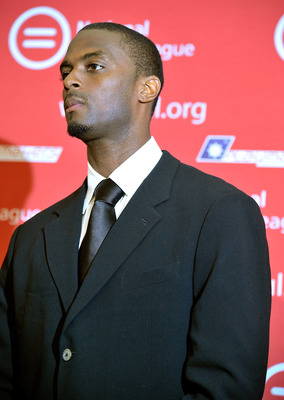 NEW YORK, NY - JUNE 13:  Former NFL wide receiver Plaxico Burress attends a press conference at National Urban League on June 13, 2011 in New York City.  (Photo by Joe Corrigan/Getty Images)