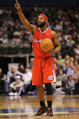 Baron Davis. Yo, fix me a plate. Hungry!