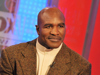 NEW YORK, NY - JANUARY 17:  Former boxing World undisputed champion Evander Holyfield visits 'Fox & Friends' at FOX Studios on January 17, 2011 in New York City.  (Photo by Slaven Vlasic/Getty Images)