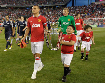 Vidic leads United from the back, time and time again
