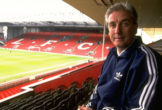 1994:  Portrait of Liverpool Manager Roy Evans at Anfield in Liverpool, England. \ Mandatory Credit: Allsport UK /Allsport