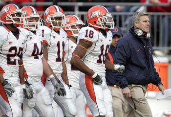 Ron Zook Leading the Illini