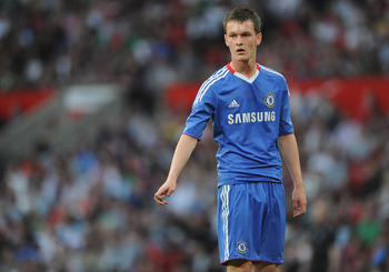MANCHESTER, ENGLAND - APRIL 20: Josh McEachran of Chelsea looks on during the FA Youth Cup Semi Final 2nd Leg between Manchester United and Chelsea at Old Trafford on April 20, 2011 in Manchester, England.  (Photo by Michael Regan/Getty Images)