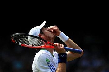 Andy Murray made it to the semifinals of Wimbledon 2011.