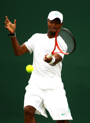 Donald Young at Wimbledon 2011.