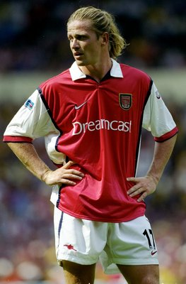1 Aug 1999:  Emmanuel Petit of Arsenal in action during the FA Charity Shield match against Manchester United played at Wembley Stadium in London, England.  The match finished in a 2-1 victory to the Arsenal. \ Mandatory Credit: Mark Thompson /Allsport