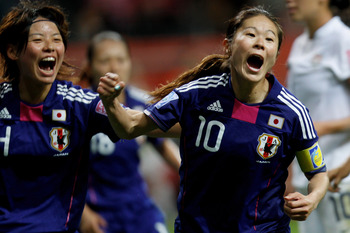 Homare Sawa's late goal helped life Japan over the U.S.