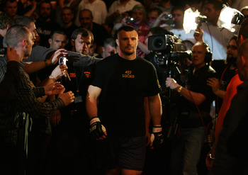This should be the final fight for MMA veteran Cro Cop... hopefully