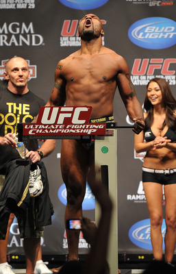 Fans will be holling at their TV screens as Jon Jones will defend his title for the first time against Rampage Jackson