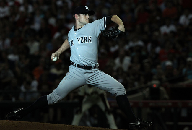 PHOENIX, AZ - JULY 12:  American League All-Star David Robertson #30 of the New York Yankees throws a pitch in the second inning of the 82nd MLB All-Star Game at Chase Field on July 12, 2011 in Phoenix, Arizona.  (Photo by Christian Petersen/Getty Images)