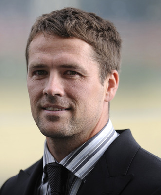 ASCOT, ENGLAND - JUNE 16: Michael Owen attends Ladies Day on day three of Royal Ascot at Ascot racecourse on June 16, 2011 in Ascot, England.  (Photo by Alan Crowhurst/ Getty Images)