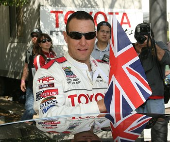 LONG BEACH, CA - APRIL  8:  Vinnie Jones attends the Toyota Grand Prix of Long Beach Celebrity Race on April 8, 2006 in Long Beach, California.  (Photo by Frederick M. Brown/Getty Images).