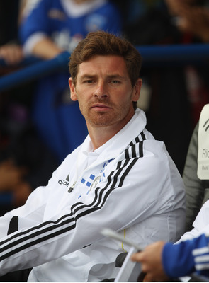PORTSMOUTH, ENGLAND - JULY 16:  Chelsea Manager Andre Villas-Boas looks on during the Pre Season Friendly match between Portsmouth and Chelsea at Fratton Park on July 16, 2011 in Portsmouth, England.  (Photo by Tom Shaw/Getty Images)