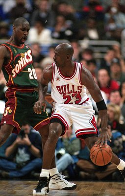 Gary Payton was one of the best defenders in NBA history