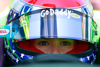 TORONTO, CANADA - JULY 08:  Danica Patrick, driver of the Andretti Autosport Dallara Honda, sits in her car during practice for the IZOD IndyCar Series Honda Indy Toronto on July 8, 2011 in the streets of Toronto, Ontario, Canada.  (Photo by Chris Trotman