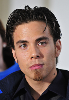 WASHINGTON - APRIL 21:  (AFP OUT) Apolo Anton Ohno, Olympic Short Track Speed Skater, makes remarks to reporters after meeting United States President Barack Obama and first lady Michele Obama at the White House on April 21, 2010 in Washington, DC. Presid