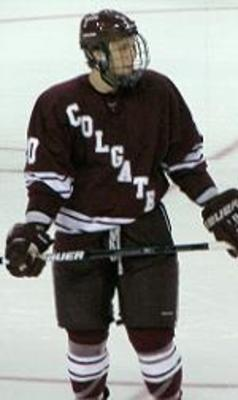 Jeremy Price with the Colgate Raiders