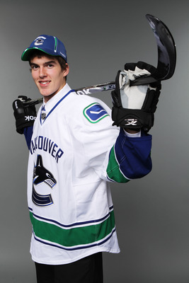 Joseph LaBate after being drafted 90th overall by the Canucks