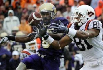 Virginia Tech vs James Madison 2010
