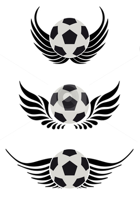 Cutcaster-photo-100740615-soccer-ball-with-wing_display_image