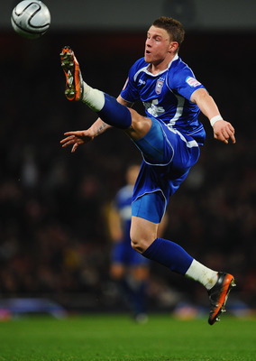 LONDON, ENGLAND - JANUARY 25:  Connor Wickham of Ipswich Town in action during the Carling Cup Semi Final Second Leg match between Arsenal and Ipswich Town at Emirates Stadium on January 25, 2011 in London, England.  (Photo by Clive Mason/Getty Images)