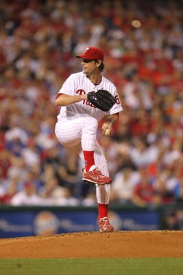 PHILADELPHIA - MAY 2: Starting pitcher Jamie Moyer #50 of the Philadelphia Phillies delivers a pitch during a game against the New York Mets at Citizens Bank Park on May 2, 2010 in Philadelphia, Pennsylvania. The Phillies won 11-5. (Photo by Hunter Martin